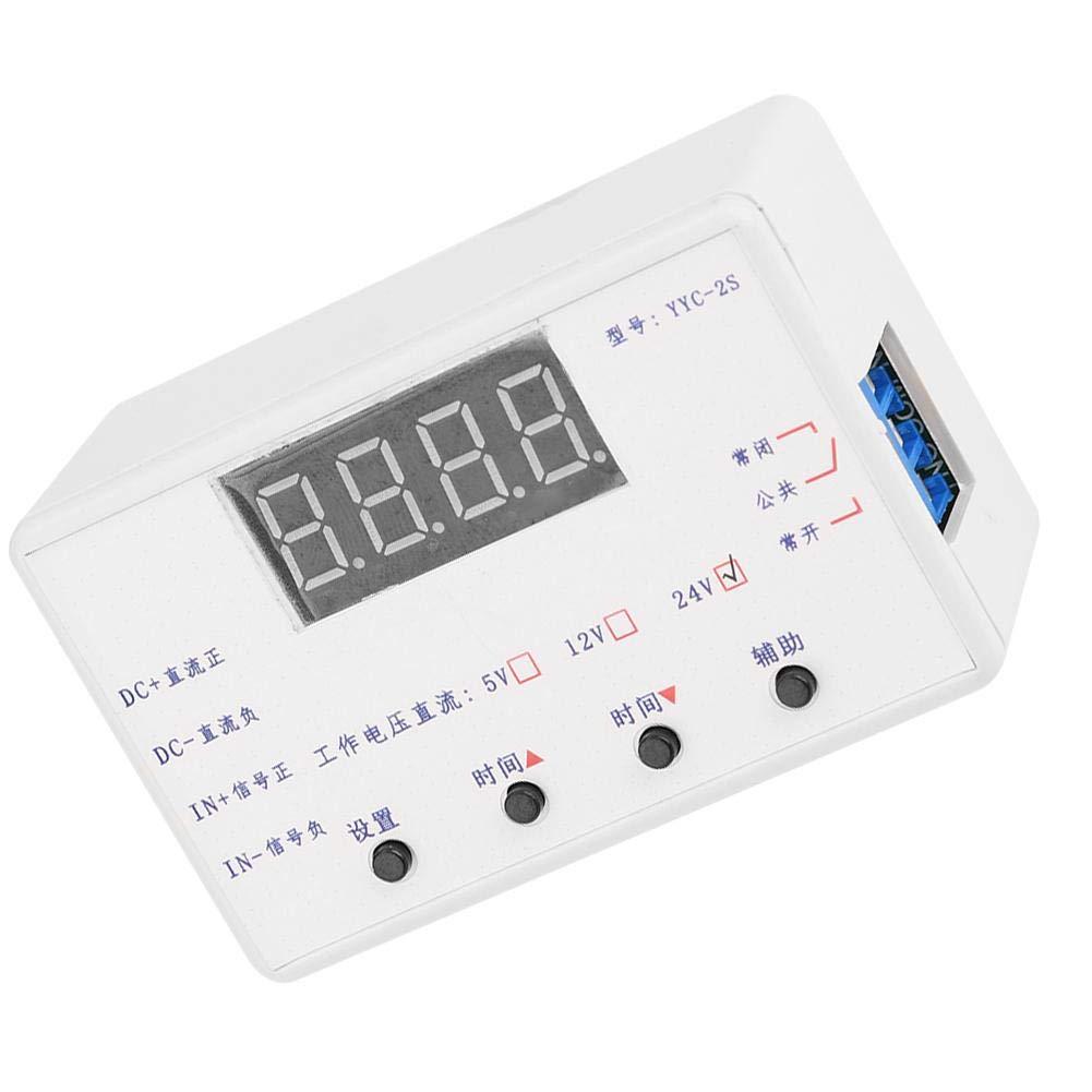 12V Temporizador Rel/é Ajustable Automatizaci/ón Interruptor de control M/ódulo Pantalla LED