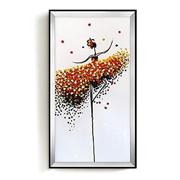 Wunderbar Patined Veranda Dekoration Malerei Moderne, Einfache Flur Hängenden  Zeichnung Wohnzimmer Öl Malerei Ballett, 50