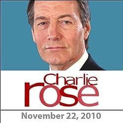 Charlie Rose: Steven Rattner and Janet Napolitano, November 22, 2010