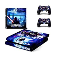 STAR WARS ALL EPISODES, ALL HEROES Exclusive PS4 Sticker Skin for PlayStation 4 (STAR WARS - UNDER ATTACK)