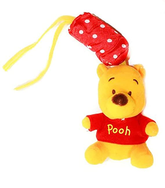 Divertido Bebé Niñas Niños Character suave Toy Rattle en Eeyore, Tigger, Pooh y Piglet