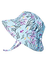 Jan & Jul Baby Toddler Kids Aqua-Dry Bucket Sun-Hat 50+ UPF Protection, Adjustable, Stay-on Chin-Strap