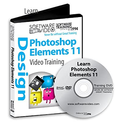 Software Video Learn Adobe Photoshop Elements 11 Training DVD Christmas Holiday Sale 60% Off training video tutorials DVD Over 12 Hours of Video Tutorials Training