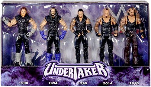WWE Wrestling Network Spitlight Undertaker Action Figure 5-Pack by Wrestling