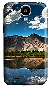 Samsung S4 Case Mountain And Lake 01 3D Custom Samsung S4 Case Cover