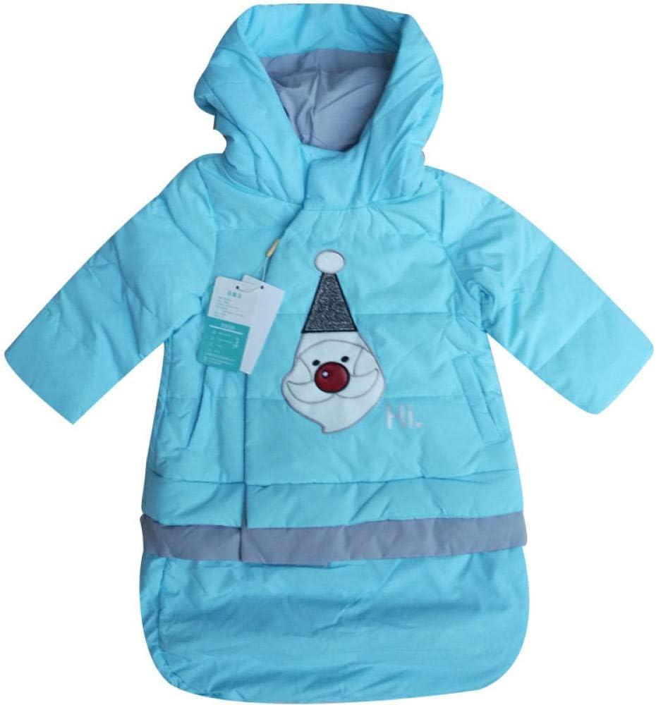 Overol de bebé chaqueta de bata cubierta de abrigo de bebé chaqueta de dormir de 0-3 años saco de dormir-azul claro_100cm saco de dormir dormir: Amazon.es: Bebé