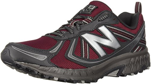 New Balance Men's MT410v5 Cushioning Trail Running Shoe, Oxblood, 7 D US by New Balance (Image #1)