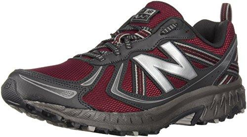 New Balance Men's MT410v5 Cushioning Trail Running Shoe, Oxblood, 7 D US