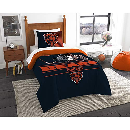The Northwest Company NFL Chicago Bears Anthem Twin/Full Bedding - Bed Bears Full