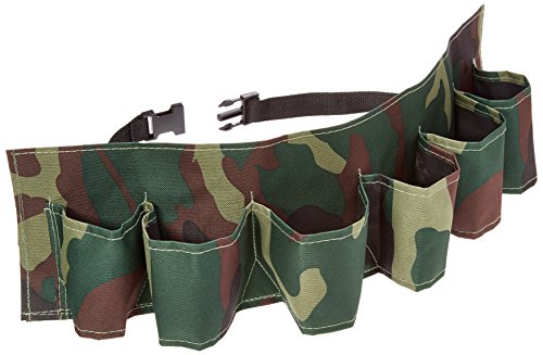 Camouflage Beer Belt Holds Bottles