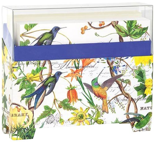 Michel Design Works 14 Count Boxed Notes, Hummingbird