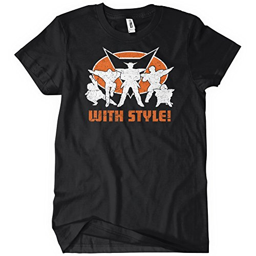 Ginyu Force with Style T-Shirt Funny Adult Mens Cotton Tee Sizes S-5XL