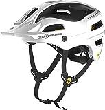 Sweet Protection Bushwhacker II Carbon MIPS Bike Helmet, Satin White Metallic, Medium/Large