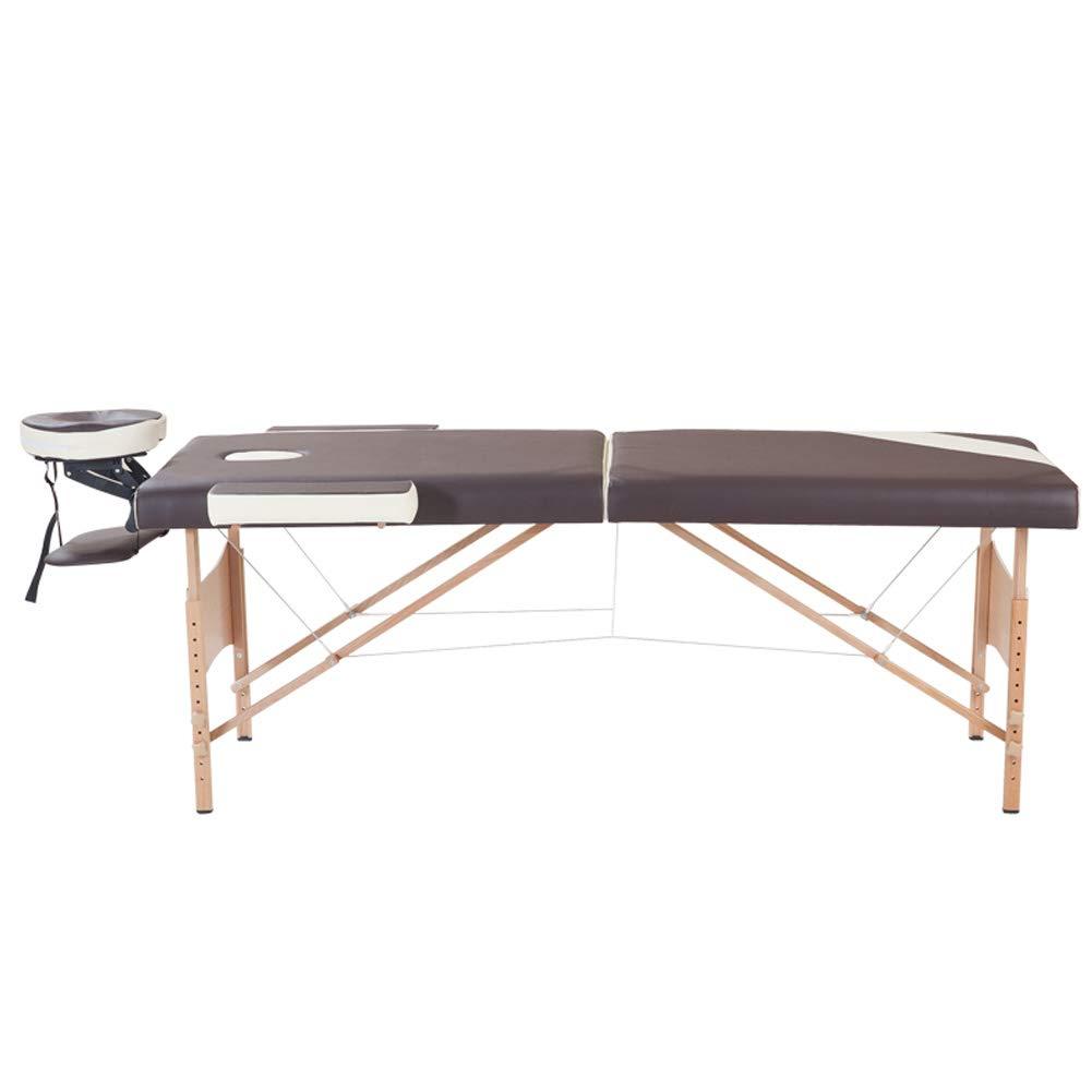 新しい折りたたみ式マッサージテーブル、プロの高級防水ポータブル木製美容テーブル、タトゥー/サロン/スパ 186cm*70cm B07TB1VKSP  186cm*70cm