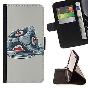 Momo Phone Case / Flip Funda de Cuero Case Cover - Portal Box;;;;;;;; - Sony Xperia M4 Aqua