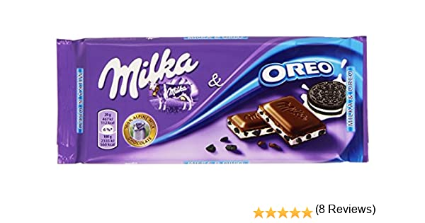 Milka - Chocolate con Galletas Oreo - 100 g: Amazon.es: Alimentación y bebidas