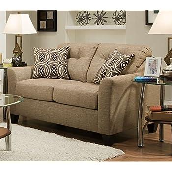 Amazon Com Lane Home Furnishings Albany Loveseat Brown