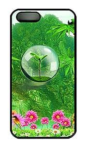 iPhone 5S Cases - Unique Lovely Wearproof Te Verde Bamboo