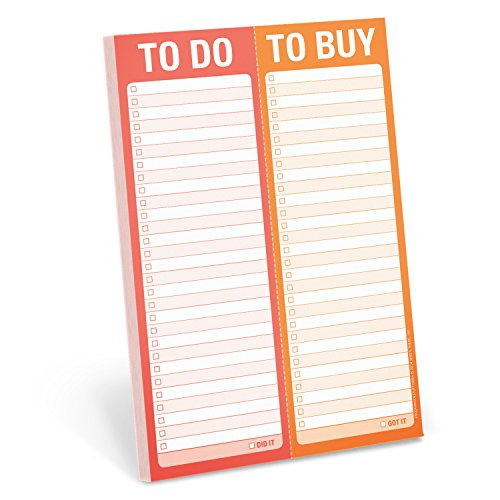 Knock Knock To Do/To Buy Perforated Note Pad