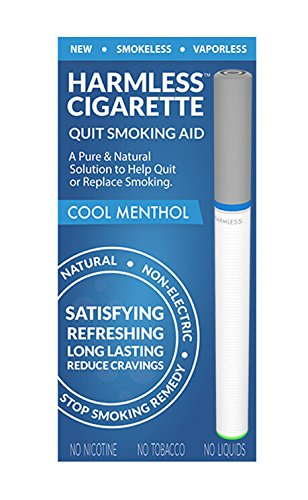 Natural Quit Smoking Remedy / Stop Smoking Aid To Help Quit Smoking / Therapeutic Quit Smoking Product / Best Stop Smoking Product / Easy Way To Quit / Harmless Cigarette (Cool Menthol)