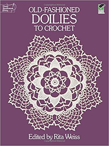 Old Fashioned Doilies To Crochet Dover Knitting Crochet Tatting
