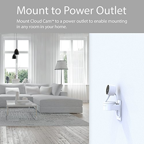 Large Product Image of TotalMount Outlet Mount for Amazon Cloud Cam