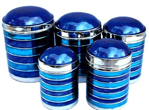 ... Blue Kitchen Canisters Kitchen Canisters Blue Amazon Com ...