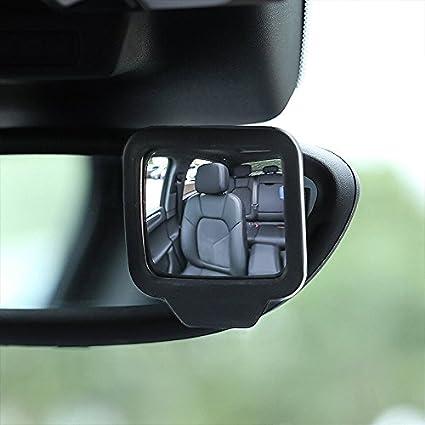 R/ückspiegel baby Kinderautospiegel Autositz Sicherheitsspiegel Baby R/ückspiegel f/ür Auto 2Packs, Schwarz Timorn r/ücksitzspiegel baby LKW SUV Toter Winkel Spiegel