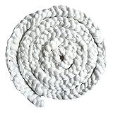 Newborn Photography Basket Braid Wool Wrap Baby Photo Props - White