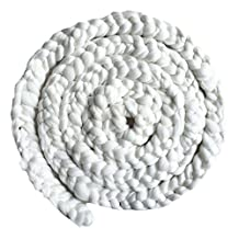 Newborn Photography Basket Braid Wool Wrap Baby Photo Props - White