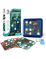 SmartGames Ghost Hunters Travel Game for Kids and Adults, a Spooky, STEM Focused Cognitive Skill-Building Brain Game - Brain Teaser for Ages 6 & Up, 60 Challenges.