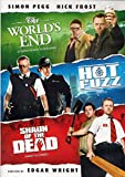 DVD : World's End / Hot Fuzz / Shaun of the Dead (Simon Pegg Triple Feature)