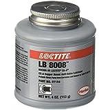 Loctite 51144Cobre Lb 8008C5-A Anti-Seize Lubricante, temperatura de -20Grado F inferior Temperatura Índice a 1800Grado F Superior Calificación, 4fl. oz. Pincel parte superior Can