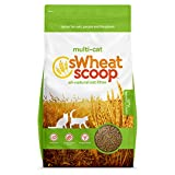 sWheat Scoop Multi-Cat All-Natural Clumping Cat Litter, 36lb Bag