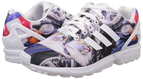 Zx Adidas Uomo Flux Sneaker Multicolore FwPfq