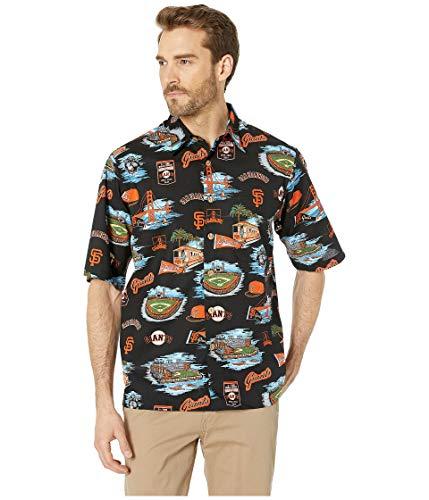 Reyn Spooner Men's San Francisco Giants MLB Classic Fit Hawaiian Shirt, Scenic 2019, Medium