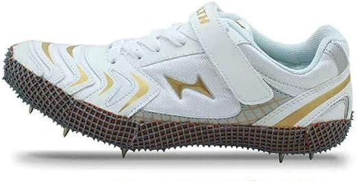 AIALTS Zapato Profesionales para Jóvenes De Atletismo con Clavos De Pista Y Campo Traviesa, 8 Clavos Zapato De Atletismo Entrenamiento para Correr Salto Largo Zapatillas,38EU: Amazon.es: Hogar
