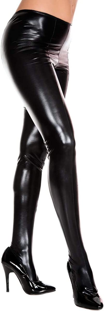 MUSIC LEGS Collant NERO bagnato
