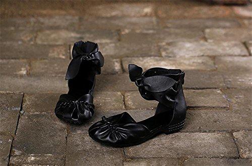 pengweiLe signore dei sandali di estate pescano i pattini di legame dell'arco della bocca