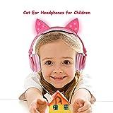 Isightguard Kids Headphones, Wired Headphones On