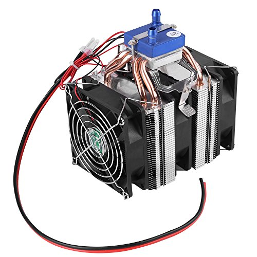 DC 12V Thermoelectric Cooler Peltier System Semiconductor Refrigeration Water Chiller Cooling Device for Fish Tank(120W (for 30L tank)) by Hilitand (Image #2)