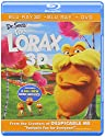 Dr Seuss the Lorax (3 Discos) [Blu-Ray 3D]<br>$959.00