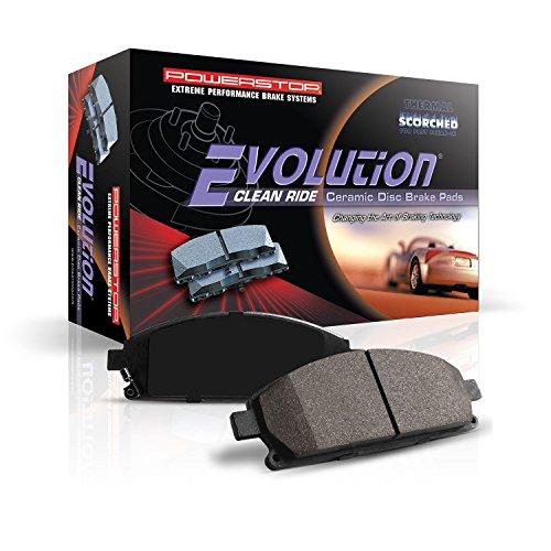 Power Stop 16-1665 Z16 Evolution Rear Ceramic Brake Pads