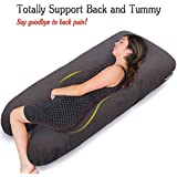 Tobbi U Shaped Maternity Pregnancy Body Pillow Support...