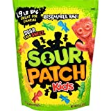 Sour Patch Kids Big Soft & Chewy Candy Family Size (Pack of 24)