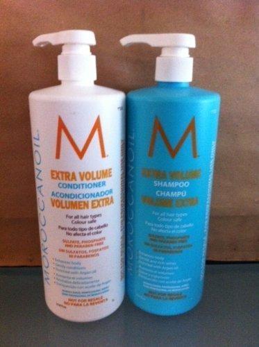 Moroccanoil Extra Volume Shampoo & Conditioner Liter DUO