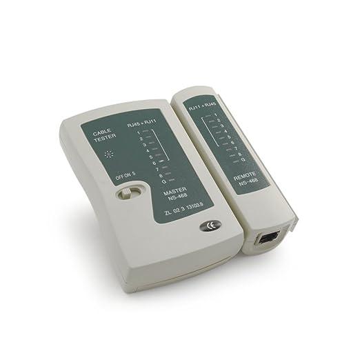 67 opinioni per Incutex Tester per cavo di rete LAN Network Ethernet Multifunzionale RJ45 RJ11