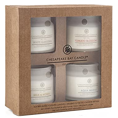 Chesapeake Bay Candle PT92146 Heritage Collection Votive Candles, Set of 4