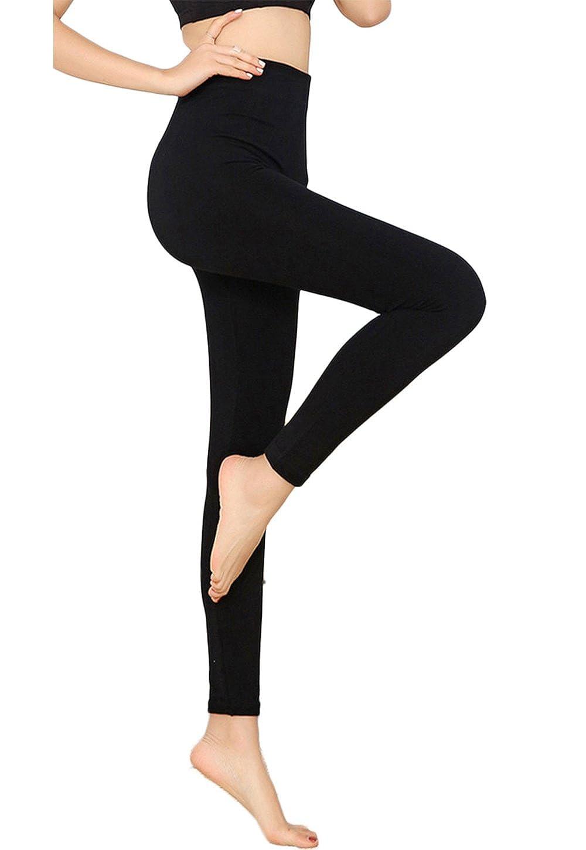 LANBAOSI Yoga Modal Leggings Plus Size Women Sport Gym Workout Basic Jeggings AD01
