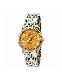 Omega De Ville Prestige Butterfly Diamond Dial Ladies Watch 424.20.27.60.58.002